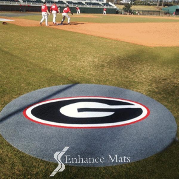 On Deck Cirles Baseball Mats Enhance Mats