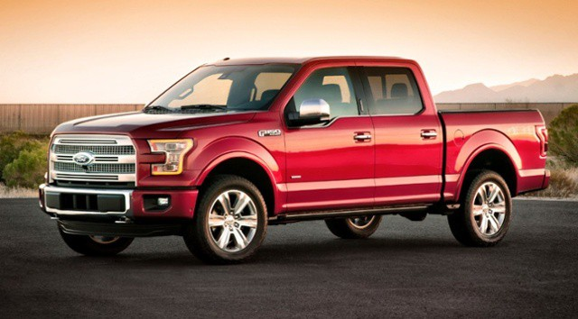Ford F150 Truck wont tear up your gym floor finish like a womans high stiletto heels