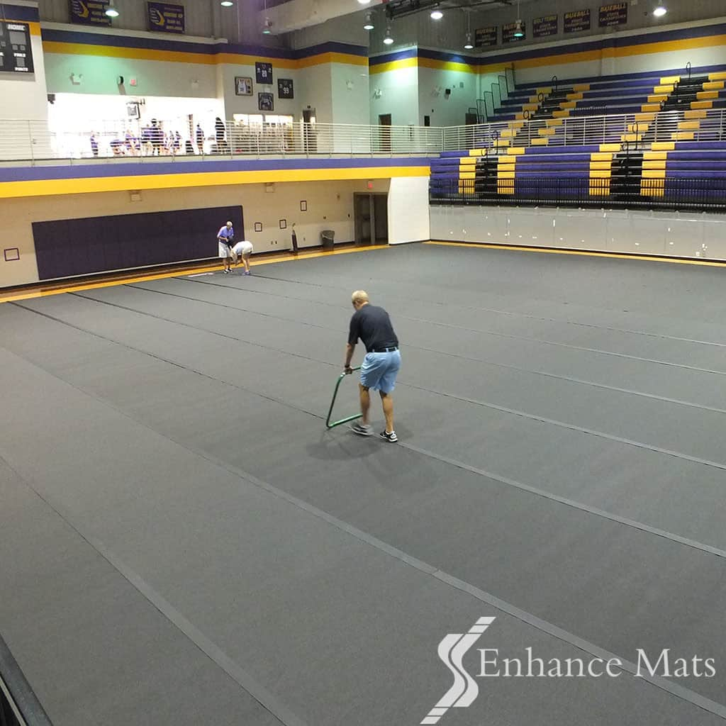 Why Buy Gym Floor Cover Protection Made In America