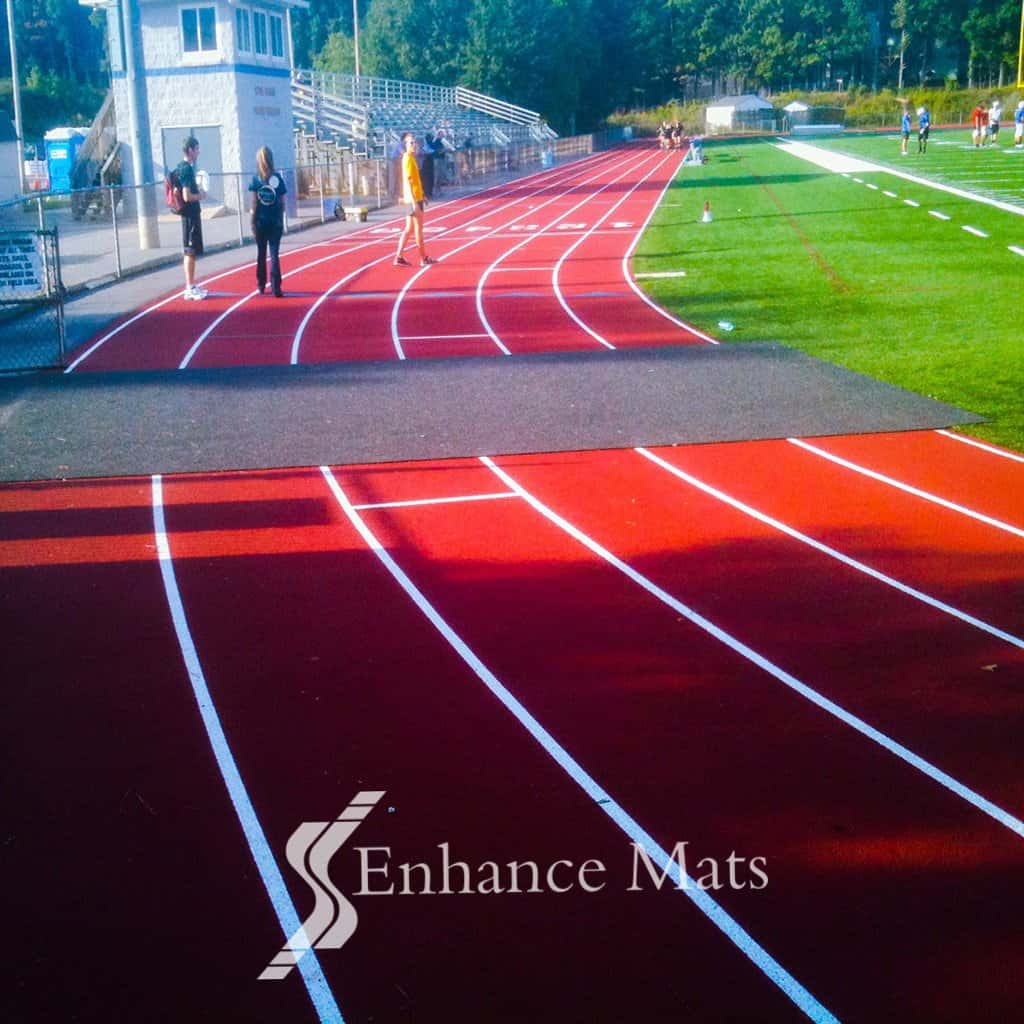Track And Sideline Covers Enhance Mats