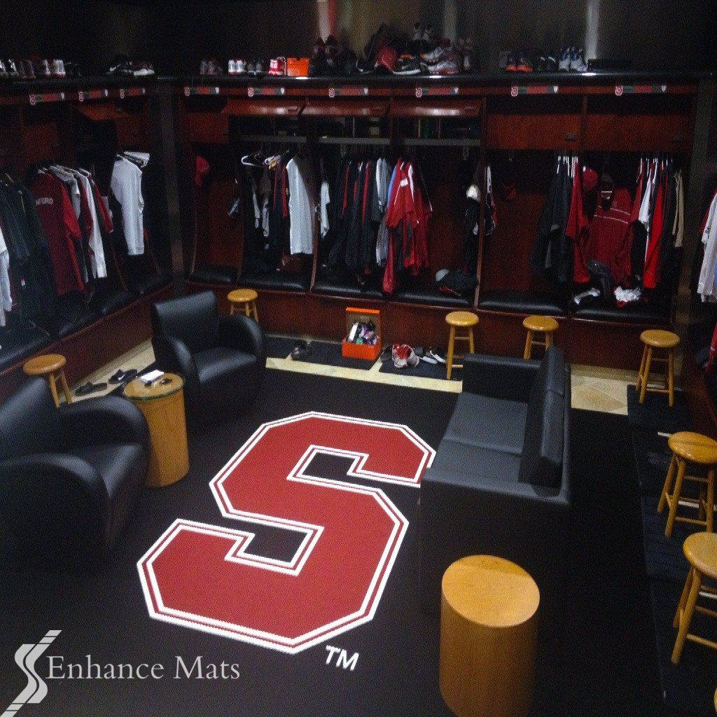 Hockey Room Gray And Red