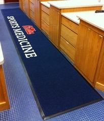 3 custom logo mat ole miss sports medicine training room enhance mats medium