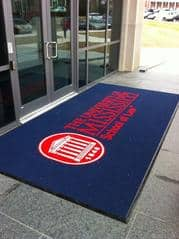 3 ole miss school of law custom logo entrance mat enhance mats medium