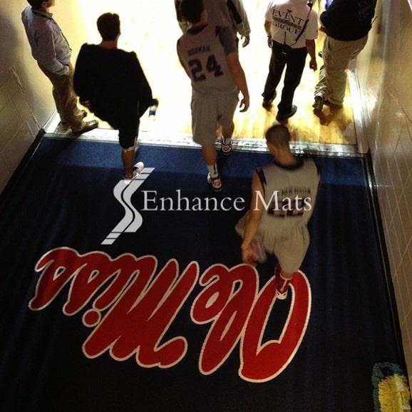 basketball mat football mat custom floor mats outdoor logo mats floor pr... 2