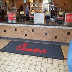 commercial chick fil a mat counter medium