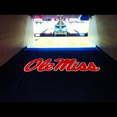 outdoor stadium custom logo mat ole miss enhance mats medium