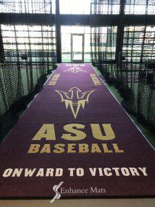 Arizona-state-university-baseball-tunnel-logo-runner-mat