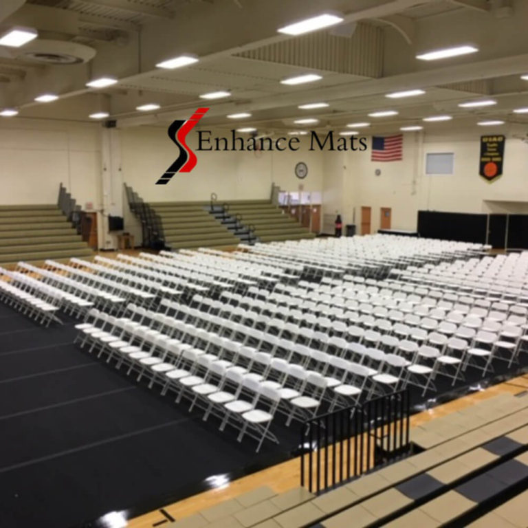 Court armor roll gym floor cover ferrum college enhance mats gym floor cover protection