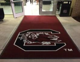entrance mats clemson custom logo mat INLAID ENHANCE MATS