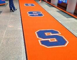 logo mat entrance collegiate athletics syracuse enhance mats 2