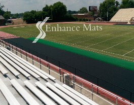 running Track cover field protection football sideline cover turf