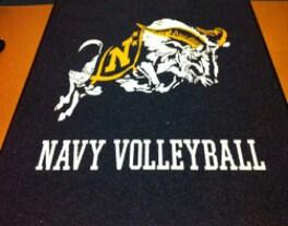 sports specific custom logo mats
