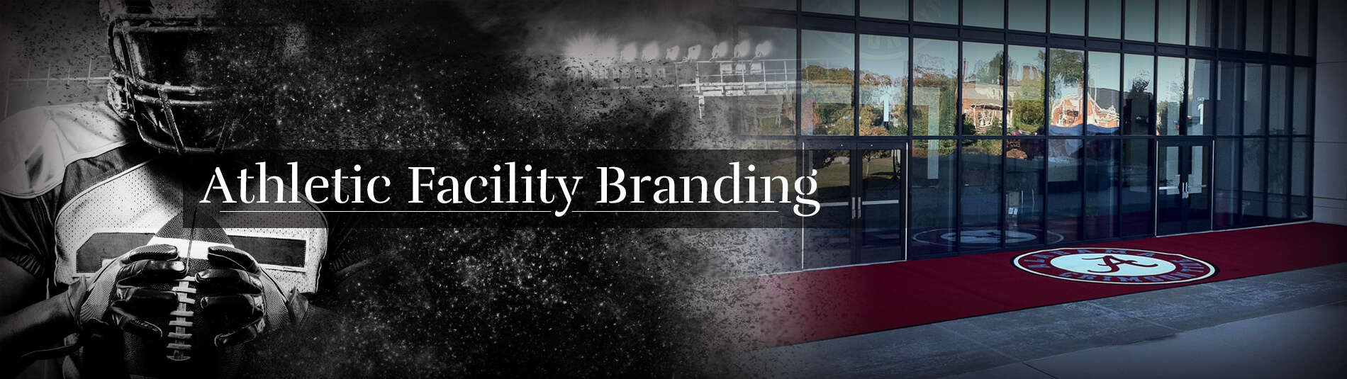 1 Athletic Facility Branding banner